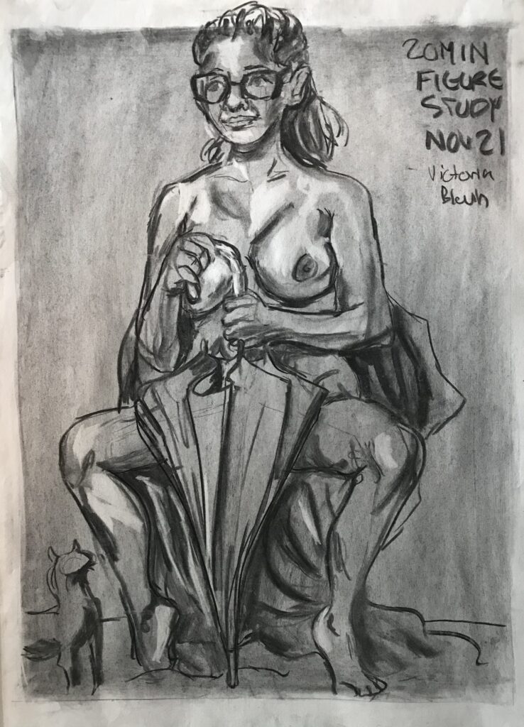 Art 101 - 20 Minute Study by Victoria Blouin